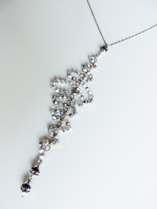 Waterfall Couture Pendant Necklace