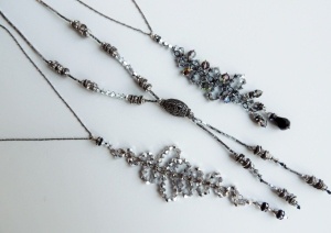 Waterfall Couture Pendants